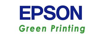 logo epson green printing