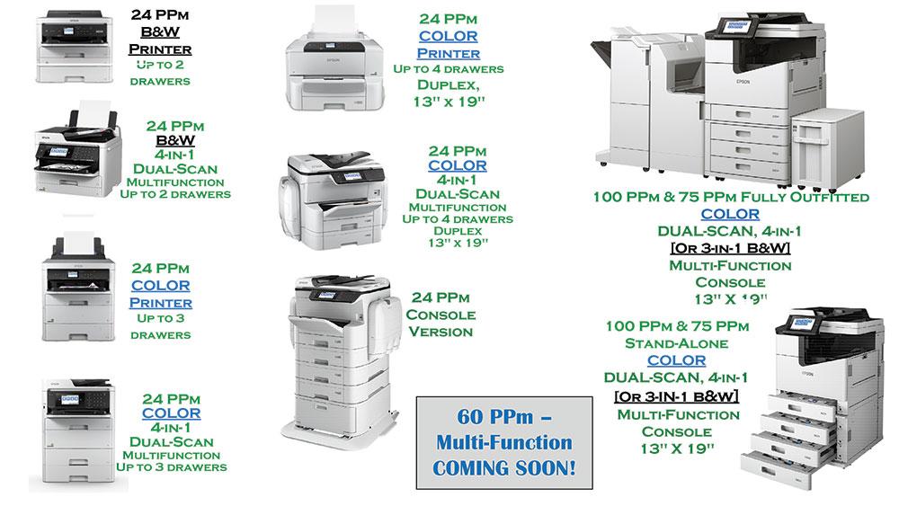 Epson Copiers and Printers